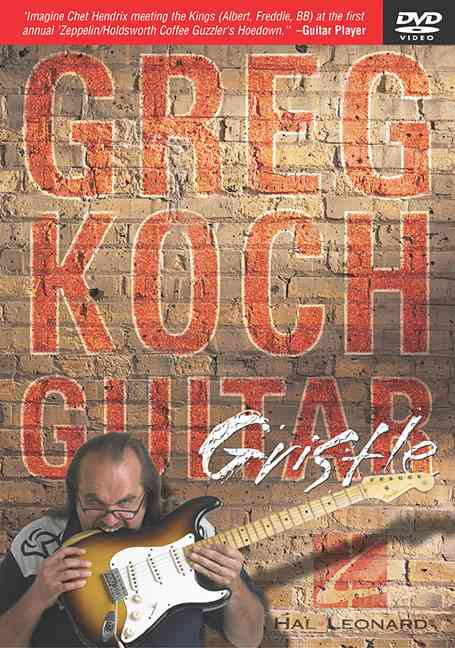 GREG KOCH GUITAR GRISTLE BY KOCH,GREG (DVD)
